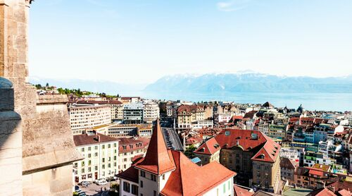 LAUSANNE PANORAMA -  LDKPHOTO - Photographie