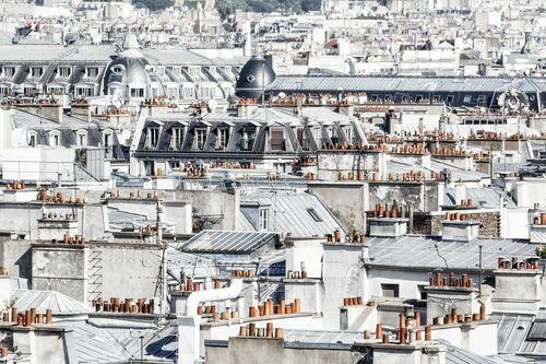PARIS - DE CHEMINEES EN CHEMINEES