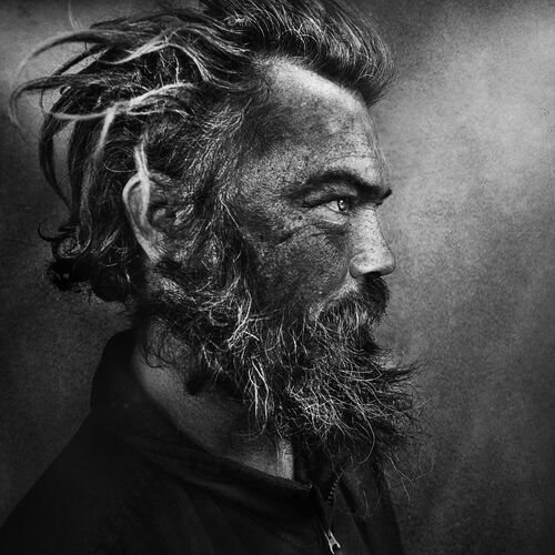Skid Row III - LEE JEFFRIES - Fotografía