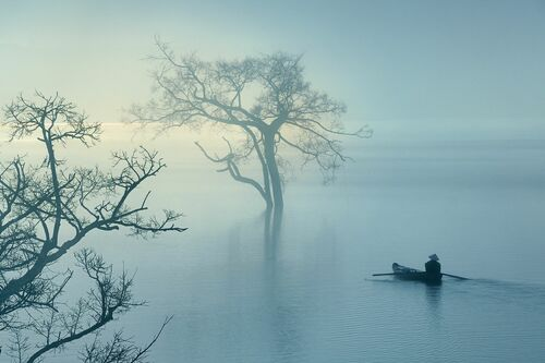 FLOATING ON THE MIST - LY HOANG  LONG - Photograph