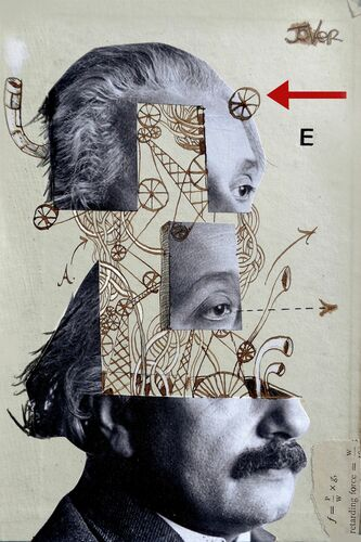 EINSTEIN MECHANICA - LOUI JOVER - Photograph