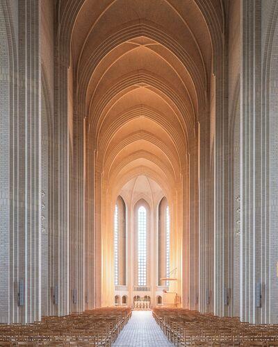 COPENHAGEN CHURCH - LUDWIG FAVRE - Photograph