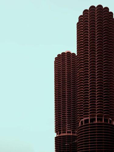 FLOWER TOWER CHICAGO - LUDWIG FAVRE - Fotografie