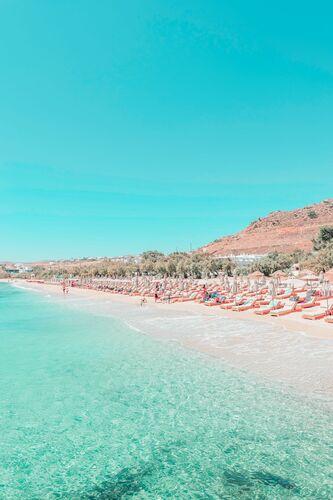 MYKONOS DREAM BEACH - LUDWIG FAVRE - Fotografie