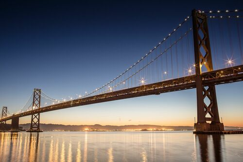 San francisco bay bridge - LUDWIG FAVRE - Photograph