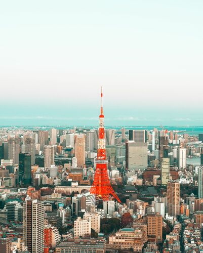 TOKYO FROM ABOVE - LUDWIG FAVRE - Kunstfoto