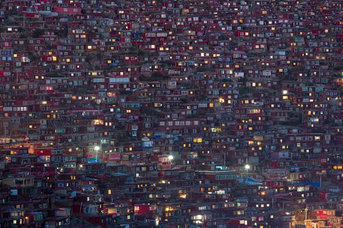 MAZE OF LIGHTS - MARCO GRASSI  - Photograph