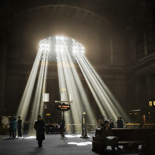 1937 UNION STATION CHICAGO - MARIE-LOU CHATEL - Photographie