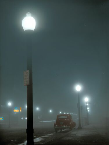 1941 FOGGY NIGHT MASSACHUSETTS - MARIE-LOU CHATEL - Photographie