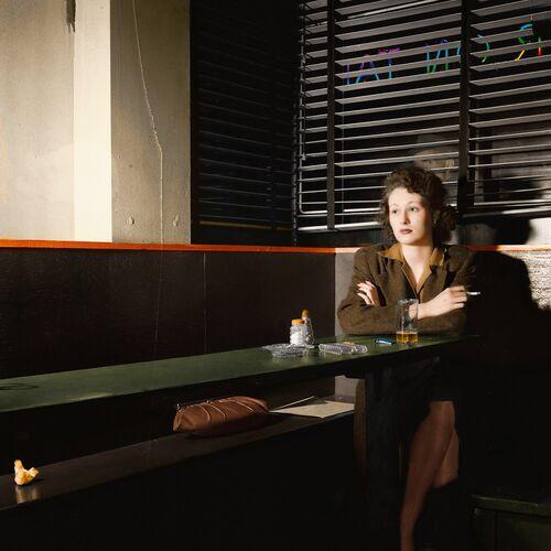1943 GIRL SITTING ALONE WASHINGTON - MARIE-LOU CHATEL - Photograph