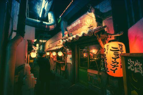 TOKYO I - MASASHI WAKUI - Kunstfoto