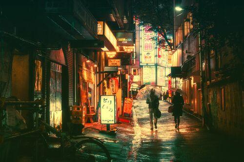 TOKYO III - MASASHI WAKUI - Kunstfoto