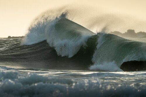 DEFERLEMENT OCEANIQUE - MATHIEU RIVRIN - Fotografie