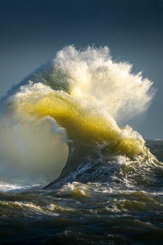 LE CHANT DORE DE L OCEAN - MATHIEU RIVRIN - Kunstfoto
