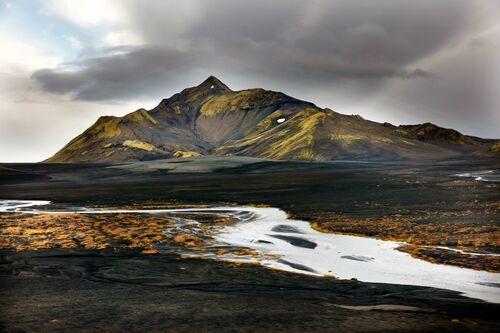 ISLANDE LAC DE LANGISJOR - MATTHIEU RICARD - Fotografie