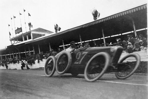 Grand Prix de l'Automobile Club de France - MAURICE-LOUIS BRANGER - Photographie