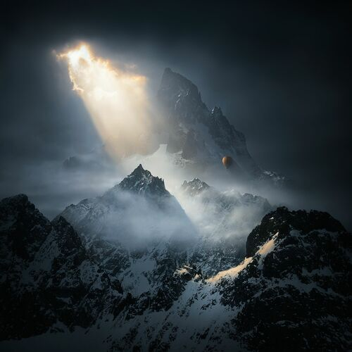 To the Threshold of Silence II - MICHAL KARCZ - Photograph