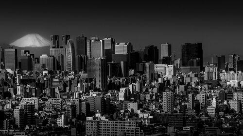 Fujisan Vs Concrete - Mostafa Ajawi - Photograph