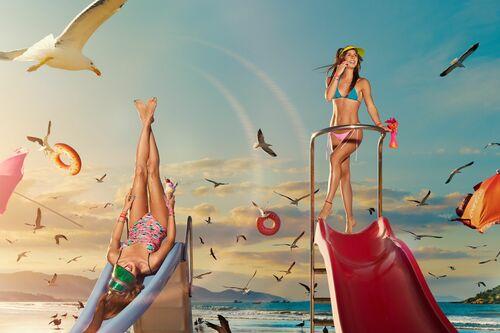 BIRDS DANCING - NICOLAS BETS - Kunstfoto