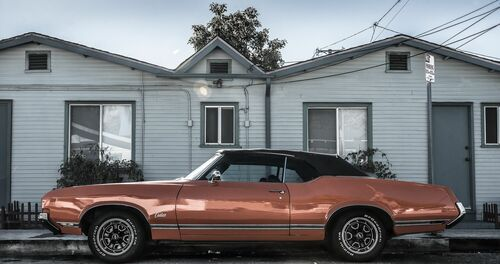 L.A. OLD SCHOOL - OLIVIER LAVIELLE - Photographie