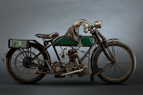 1914 BSA - PAUL CLIFTON - Photograph