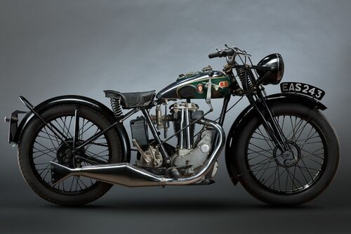 1932 BSA 350CC - PAUL CLIFTON - Fotografie