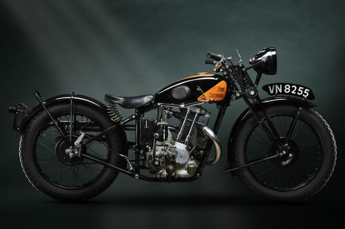 1935 NEW IMPERIAL 250CC