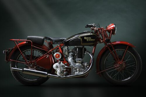 1938 ROYAL ENFIELD - PAUL CLIFTON - Fotografie