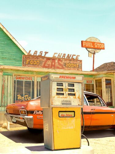ROUTE 66 - PAUL FUENTES - Photographie