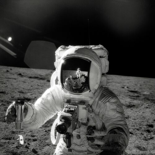 Alan Bean, Apollo 12 - PETE CONRAD - Kunstfoto