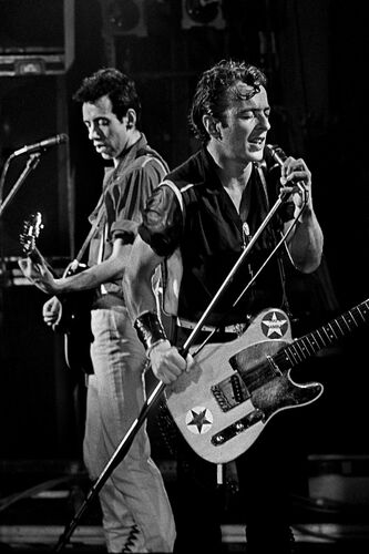 The Clash - PETER HANKFIELD - Fotografia