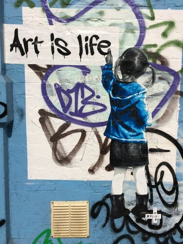 ART IS LIFE LONDON - POLAR BEAR - Fotografie