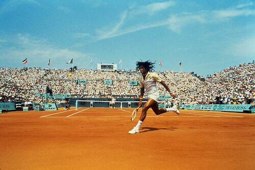 Finale Roland Garros 1983 I - PRESSE SPORTS L'EQUIPE - Photograph