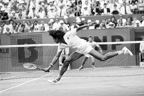 Finale Roland Garros 1983 II - PRESSE SPORTS L'EQUIPE - Photograph