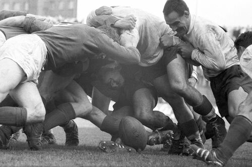 France - Irlande, Colombes 1962 - PRESSE SPORTS L'EQUIPE - Photographie