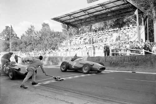 Grand Prix ACF, Rouen 1957 - PRESSE SPORTS L'EQUIPE - Photograph