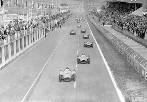 Grand prix de France, Reims 1956 - PRESSE SPORTS L'EQUIPE - Photograph