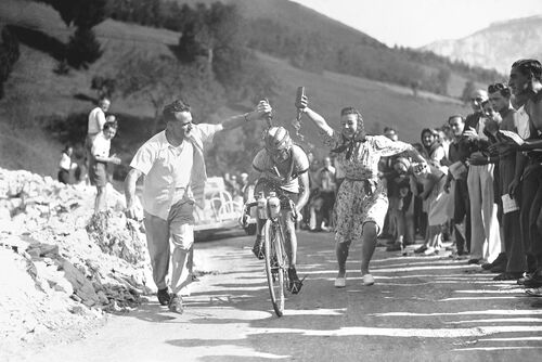Jean Robic, 1947 - PRESSE SPORTS L'EQUIPE - Photograph