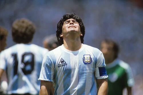 Maradona, Mexico 1986 - PRESSE SPORTS L'EQUIPE - Photographie
