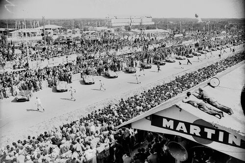 24 HEURES DU MANS 1955 - PRESSE SPORTS L'EQUIPE - Photograph