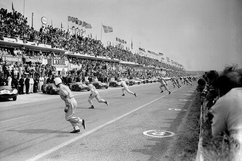 24 HEURES DU MANS 1959 - PRESSE SPORTS L'EQUIPE - Fotografie