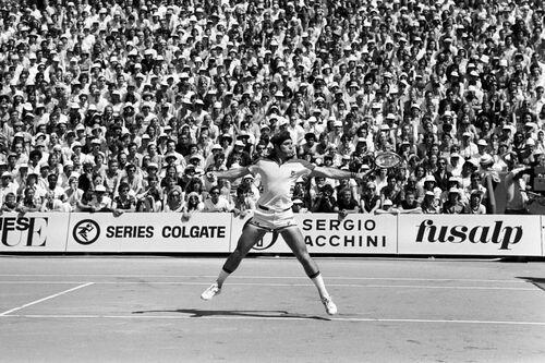 Roland Garros 1978 Guillermo Vilas - PRESSE SPORTS L'EQUIPE - Photograph