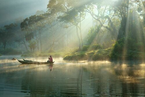 LIGHT AND MIST - RARINDRA PRAKARSA - Photograph