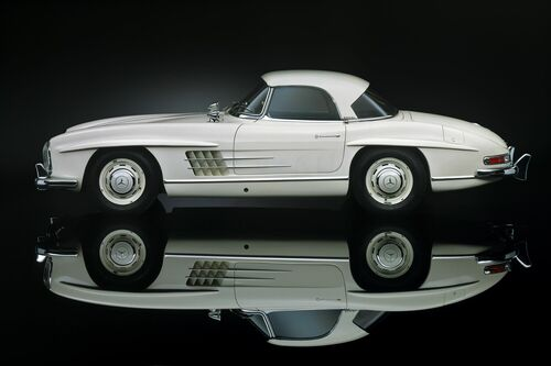 300 sl mirror - RENE STAUD - Photograph