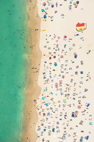 SUMMER DAYS - RICHARD HIRST - Kunstfoto