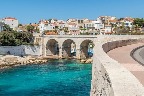 BRIDGE OVER MARSEILLE - RICHARD SILVER - Photograph