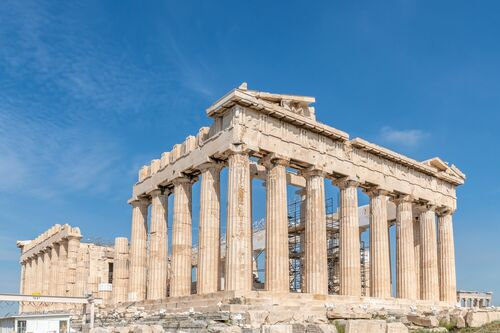THE PARTHENON ON THE ACROPOLIS IN ATHENS - RICHARD SILVER - Fotografie