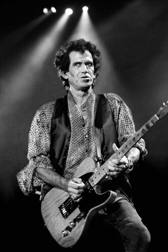 Keith Richards New-York 1994 - ROBERT SALANDRO - Kunstfoto