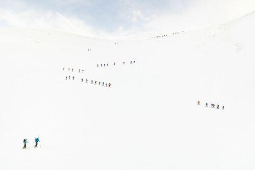 Mountain queue - Roberto Nova - Photographie