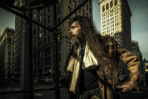 New York in a Rush - RON GESSEL - Photograph